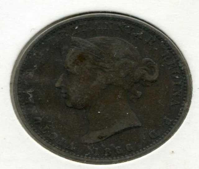 Продам: Монета Джерси 1866г редкая