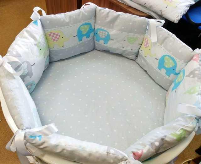 Продам: Детская круглая кроватка трансформер