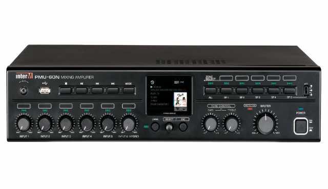 Продам PMU-60N Цифровой усилитель Inter-M