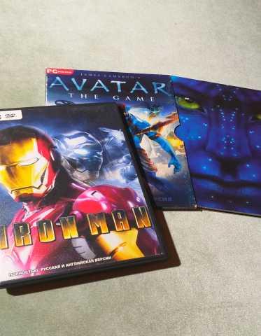 Продам Iron man + подарок Avatar The Game