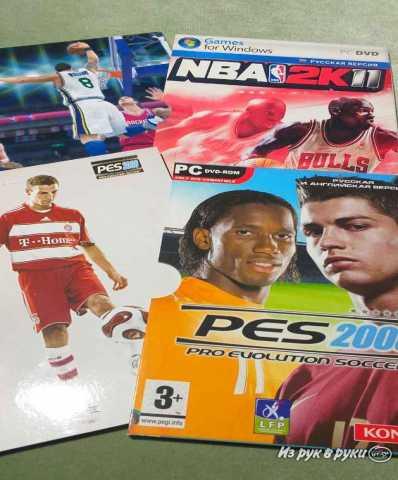 Продам PES + ПОДАРОК NBA 2k11