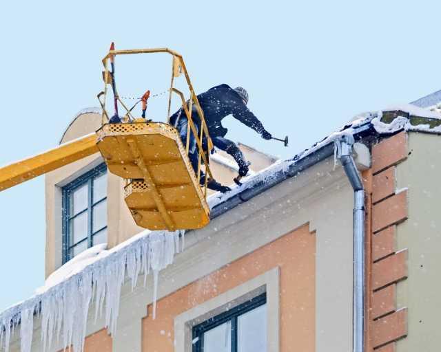 Предложение: Чистка крыши от снега и сосулек. Саратов