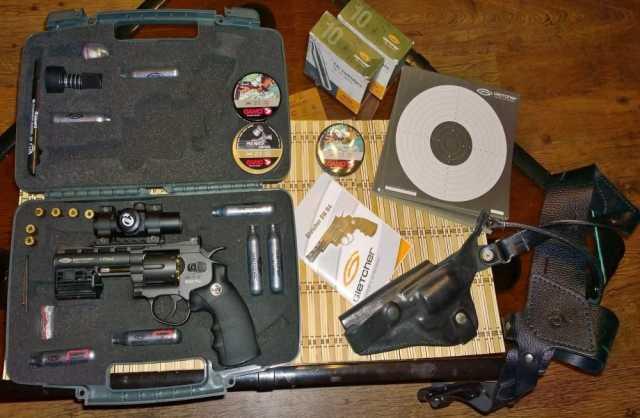 Продам Пневматический револьвер Gletcher SW R4