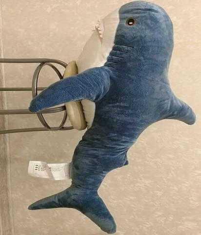 купить акула блохэй икеа оригинал в москве объявление т 25983131