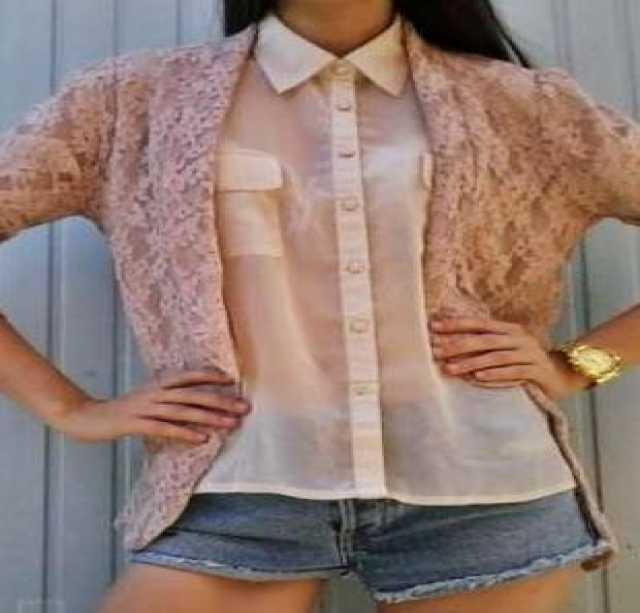Продам Гипюровый молодежный пиджак