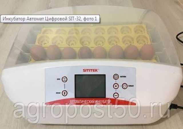 Продам Инкубатор автомат Цифровой SIT-32