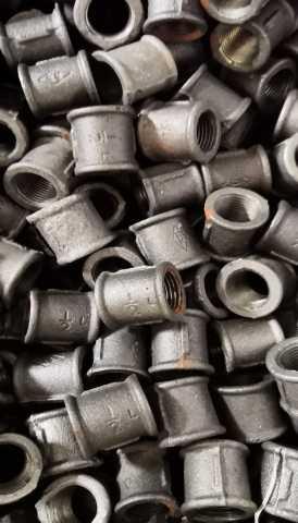 Продам Фитинги муфты для трубы новые 1310 штук