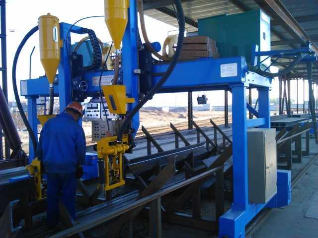 Продам Линия для производства стальных конструк