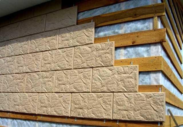 Продам Фасадная плитка с металлическими креплен