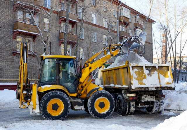 Предложение: Вывоз снега