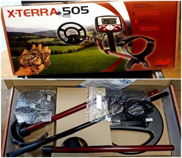 Продам Металлоискатель Minelab X-Terra 505