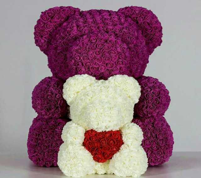 Продам Мишки из роз