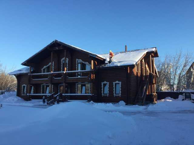 Предложение: Очистка крыши от снега и сосулек