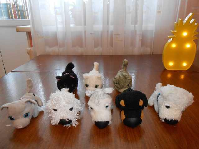Продам Мягкие игрушки собачек и кошечек