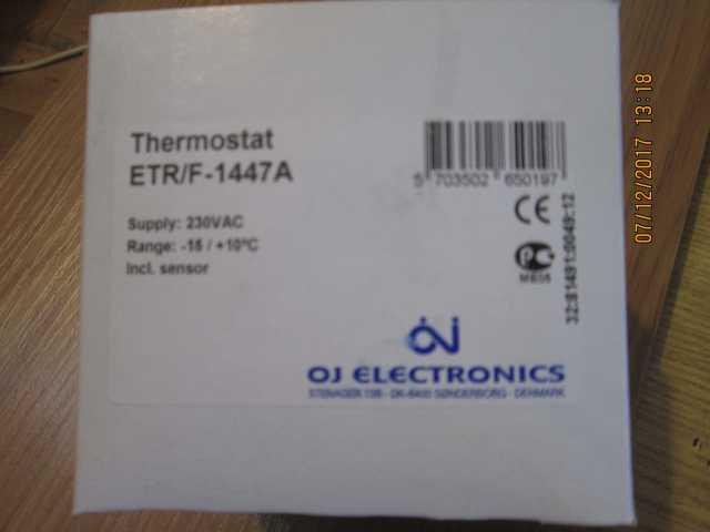 Продам Термостат ETR/F-1447A