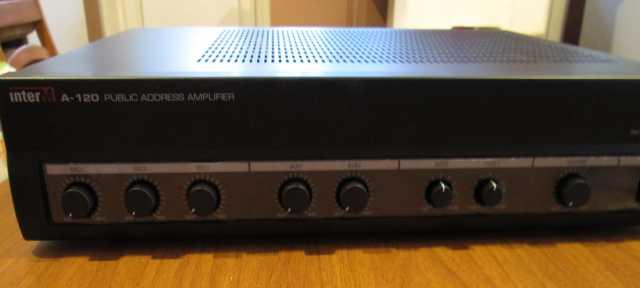 Продам Микшер-усилитель Inter-M А-120