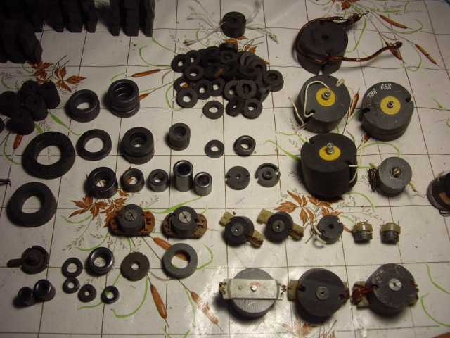 Продам: Ферритовые кольца для радиолюбителя