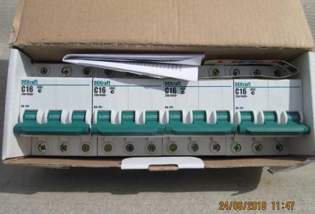Продам Автоматический выключатель ВА-101 3п 16А