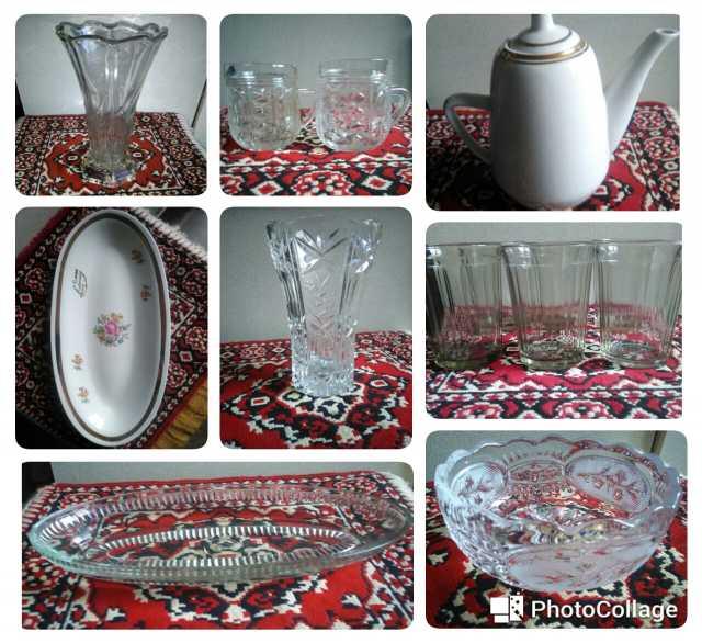 Продам Посуда советских времён хрусталь, стекло