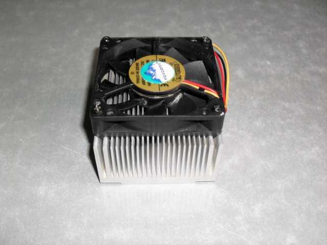 Продам: Кулер с радиатором для процессора