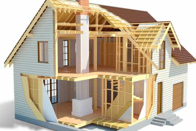 Продам: Каркасный дом по канадской технологии
