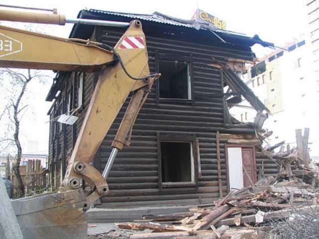 Предложение: Демонтаж домов,зданий