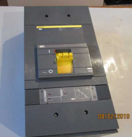Продам Автоматический выключатель ВА88-43 1600А