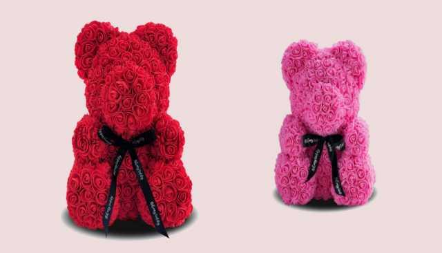 Продам  Мишка из 3D роз