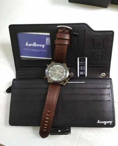 Продам Шикарный набор для мужчин клатч+ часы