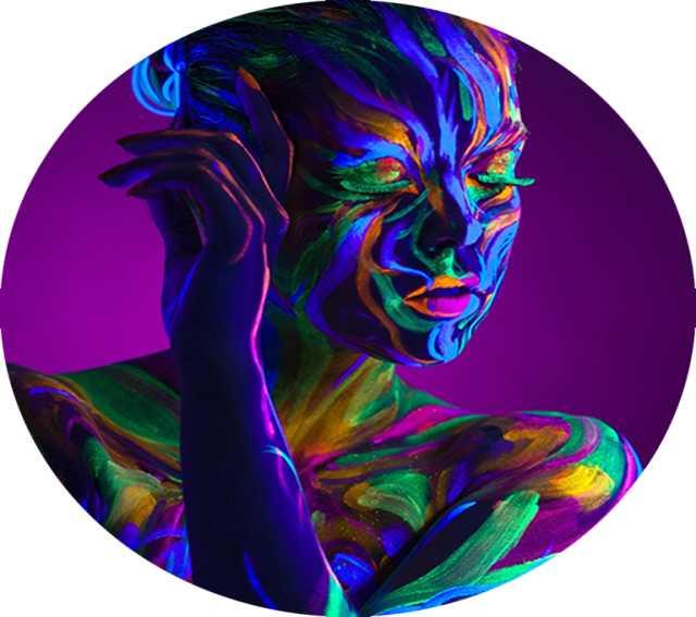 Продам Аквагрим флуоресцентный для тела