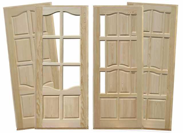 Продам: Двери из массива сосны