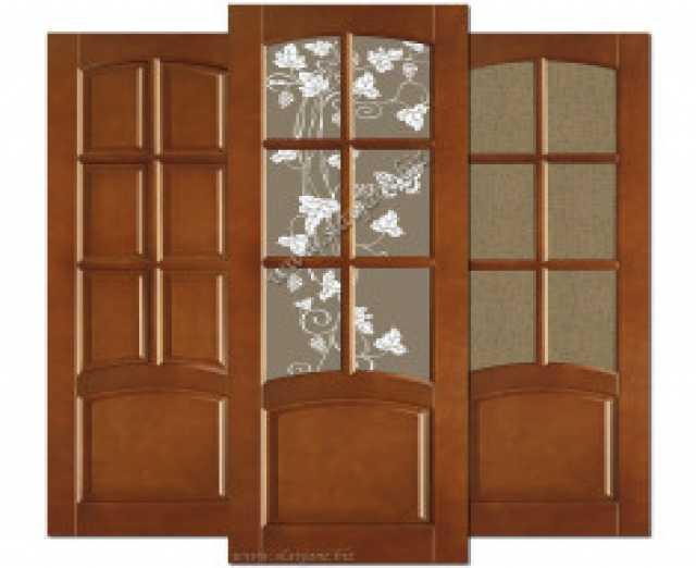Продам: Двери из массива окрашенные без сучков