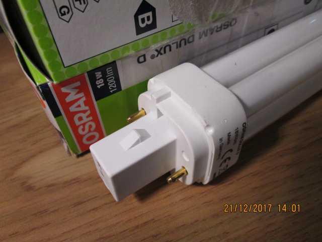 Продам Лампа люминесцентная 18w/840 G24d-2