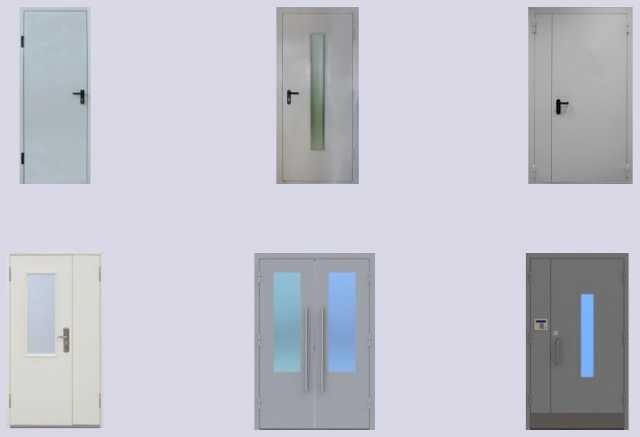 Продам Двери противопожарные металлические