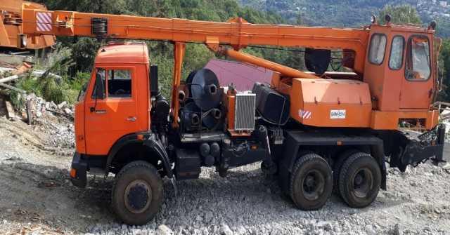 Продам Продам бурильно-крановую машину БКМ-1514