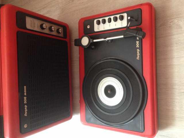 Продам: Электрофон переносный Лидер - 306 моно