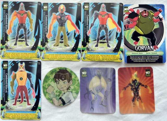 Продам Карточки Alien force. 8шт