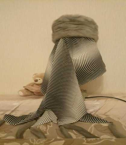 Продам Шапка норковая + шарф+ норковая шапка