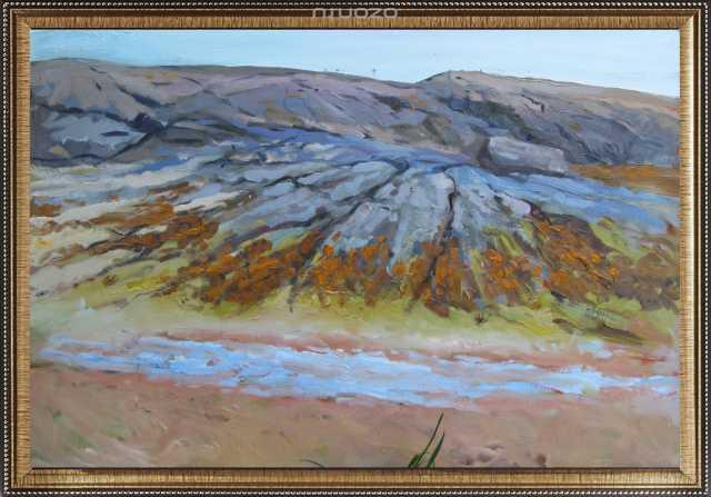 """Продам Картина """"Белое море. Край"""", к. м., 70Х50"""