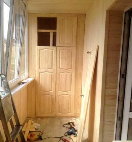 Предложение: Изготовление шкафчика на даче, балконе