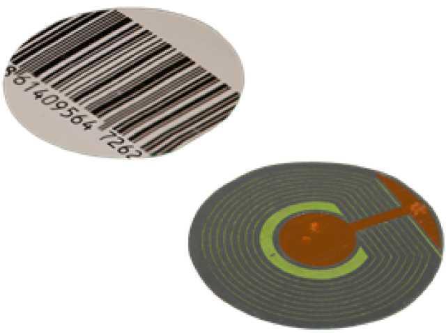 Продам Радиочастотная круглая этикетка 40 мм