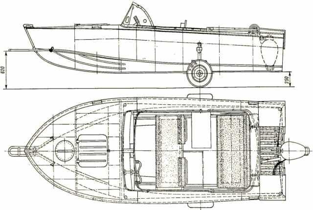 Продам Лодка Прогресс 4 с мотором и прицепом
