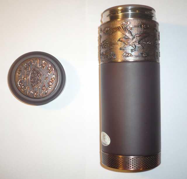 Продам Кружка-термос из исинской глины