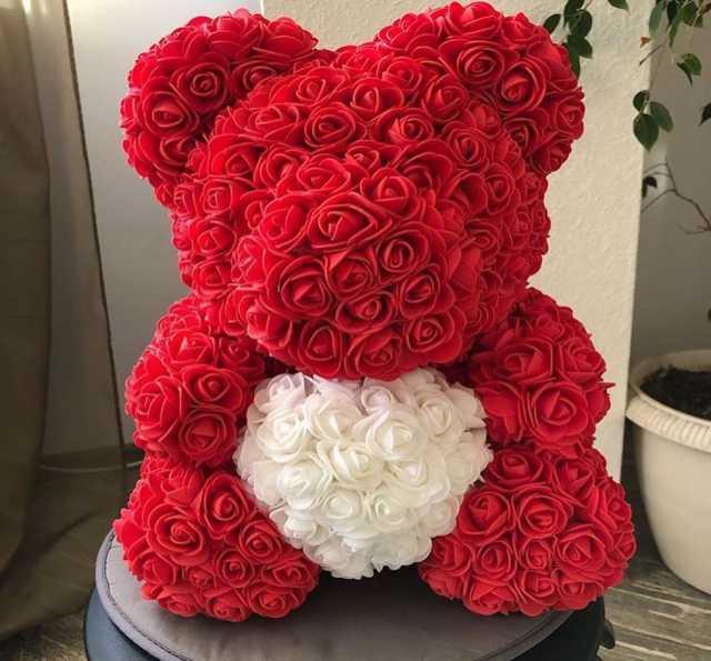 Продам: Мишки из роз в Новокузнецке