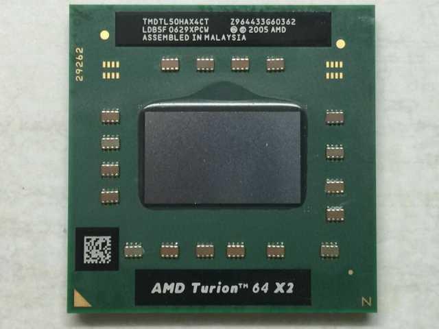 Продам Ноутбучный AMD Turion 64 X2 TL-50