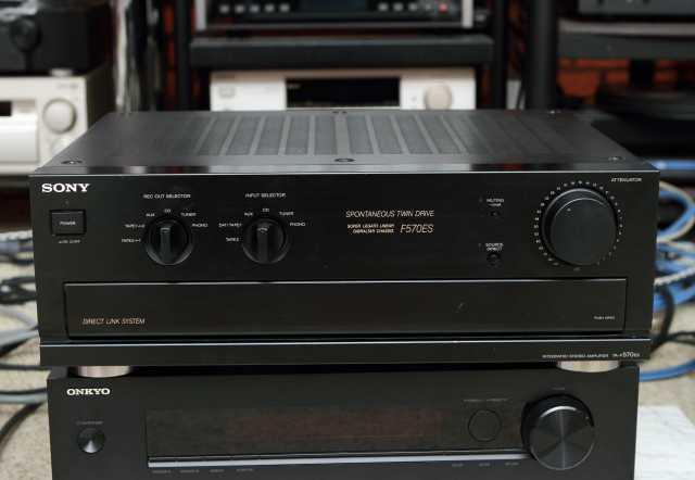 Продам Усилитель Sony TA-F570ES