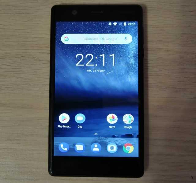 Продам Nokia 3 (черный)