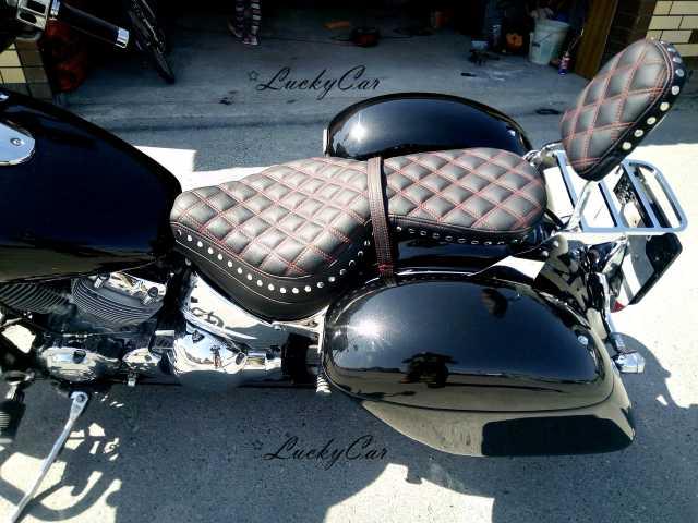 Предложение: Перетяжка сиденья мотоцикла