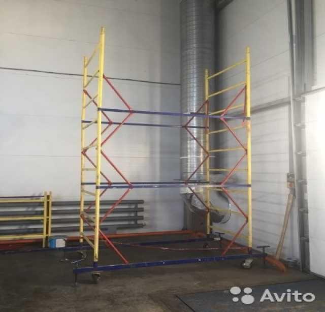 Предложение: Аренда передвижной строительной вышки