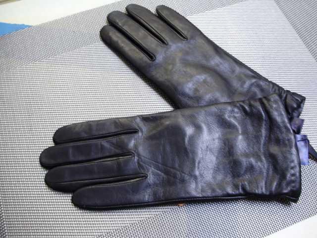 Предложение: Перчатки женские кожаные NiceTon